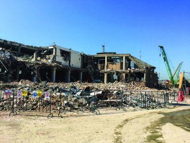 GALATAPORT Ambar Binası Yıkımı
