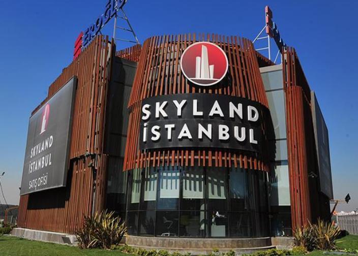 Skyland Satış Ofisi Yıkımı