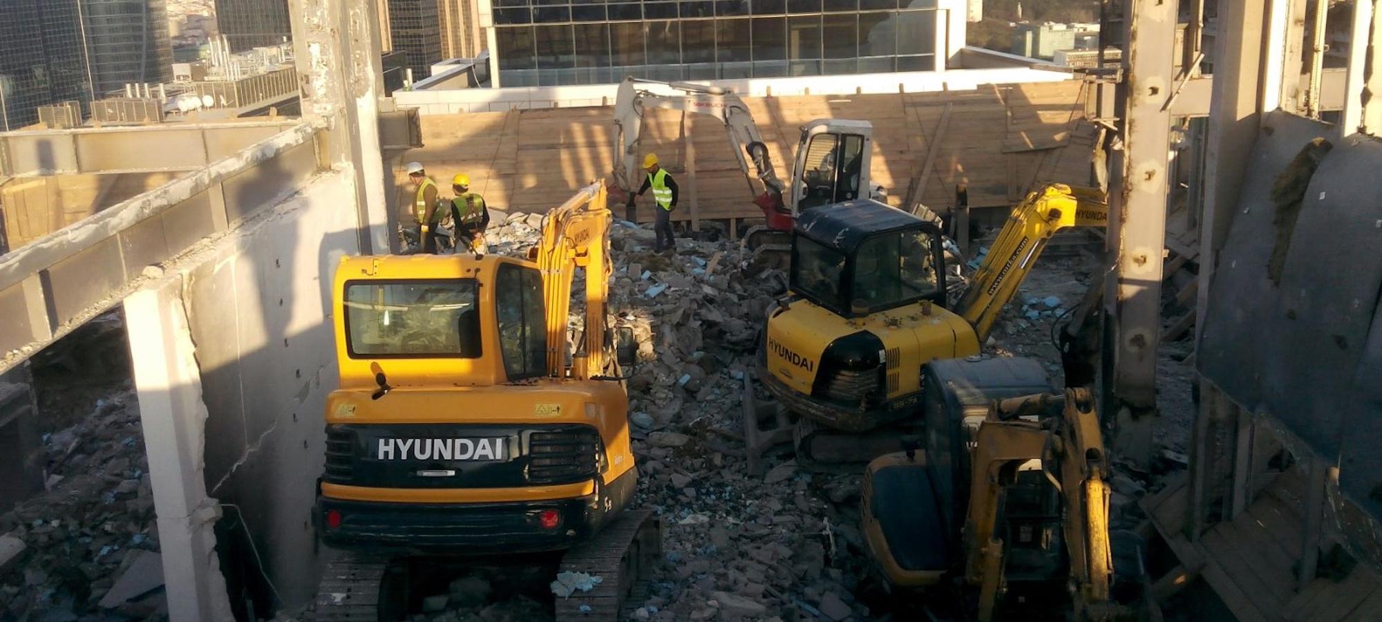 Bina Yıkım İşleri Fiyatları - İstanbul Bina Yıkımı | MTKA İnşaat